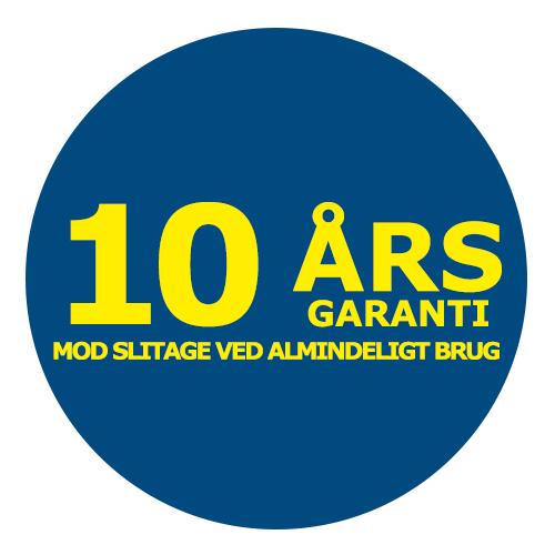 10 Års Garanti på GRP