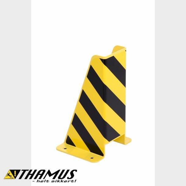 Stigebens beskytter til sikring mod påkørsel af lagerreoler - U-form - Højde 400mm.