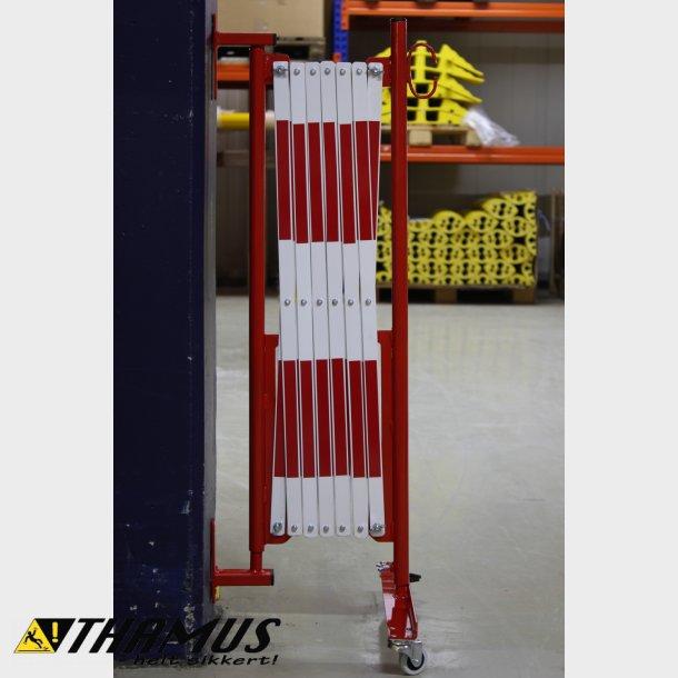 Fleksibel Afspærring - Saks 3,6 Meter - Rød/Hvid - 25x4mm