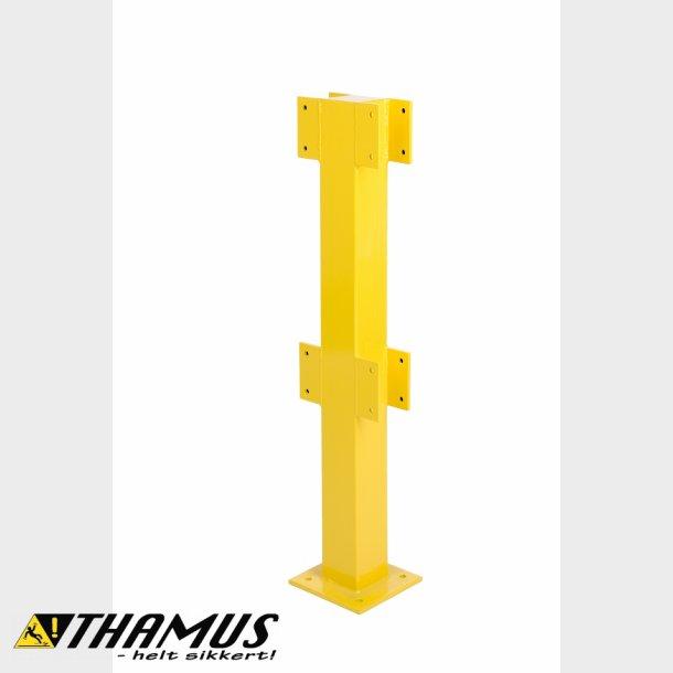 Midter Stolpe - 1 meter - Til sikkerheds rækværk - Udendørs