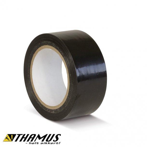 Sort - PVC gulv markeringstape
