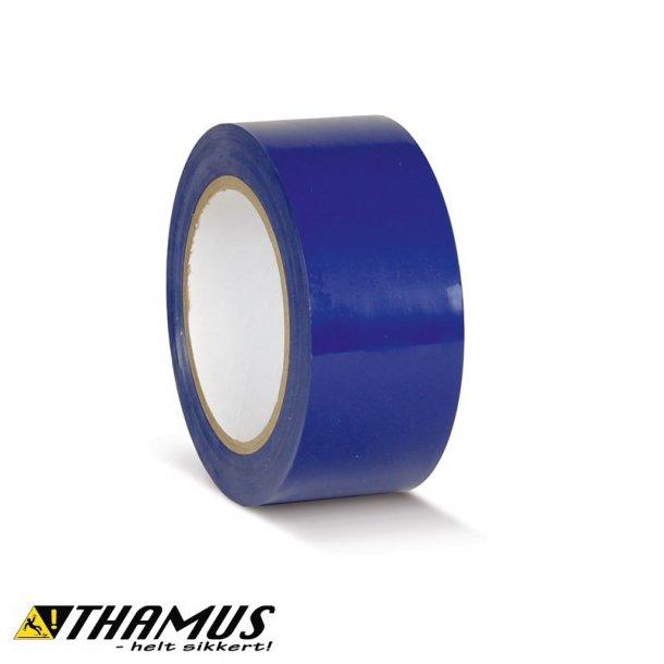 Blå - PVC gulv markeringstape