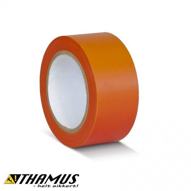 Orange - PVC gulv markeringstape