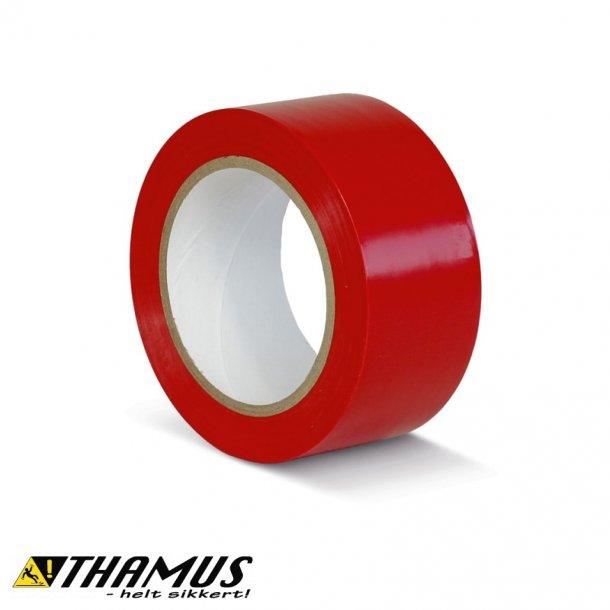 Rød - PVC gulv markeringstape