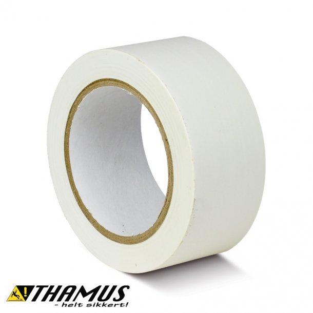 Hvid - PVC gulv markeringstape