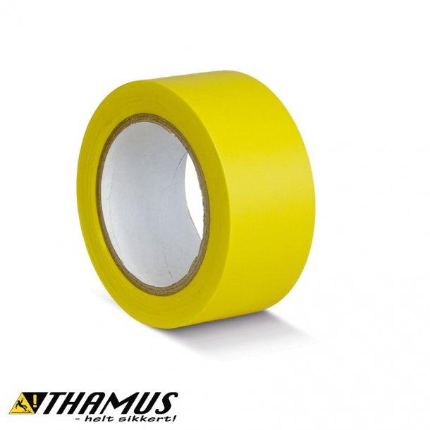 Gul - PVC gulv markeringstape