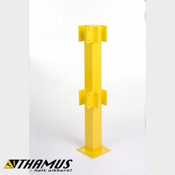 Hjørne Stolpe - 1 meter - Til sikkerheds rækværk - Udendørs