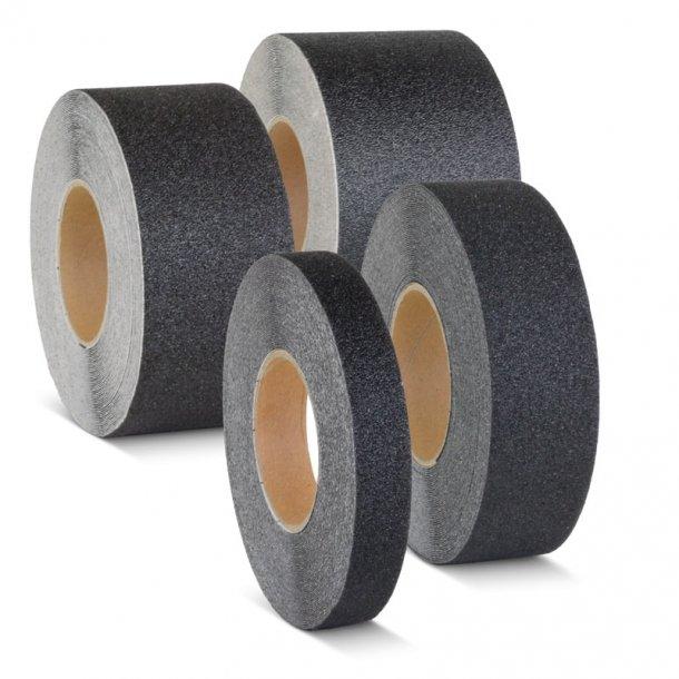 Skridsikker Tape, Sort, Ekstra Kraftig (Grov) Formbar
