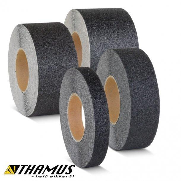 Skridsikker Tape - Sort - Ekstra Kraftig (Grov)