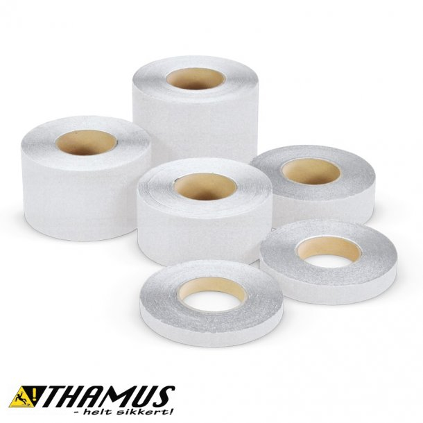Skridsikker Tape til barfodsområder og pools - Hvid - Rengøringsvenlig