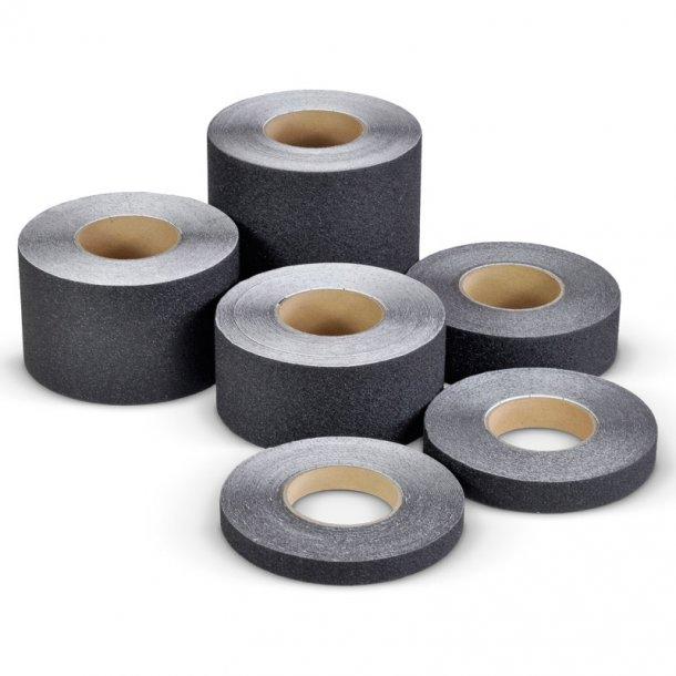 Skridsikker Tape til barfodsområder og pools - Sort - Rengøringsvenlig
