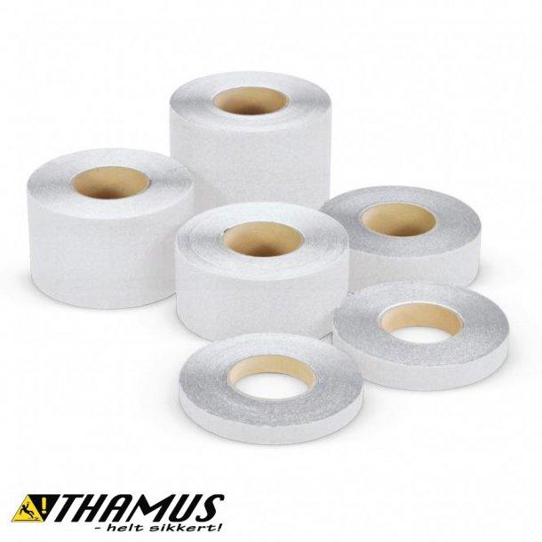 Skridsikker Tape til trapper og gulve mv. - Klar / Gennemsigtig / Transparent - Rulle a' 18,3m.