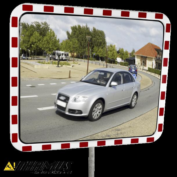 Trafikspejl - Akryl, 100x120cm