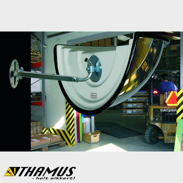 180° TRANSPO Industrispejl - Vidvinkel - Akryl - 60cm