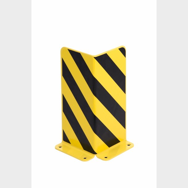 Stigebens beskytter til sikring mod påkørsel af lagerreoler - L-form - Højde 400mm.