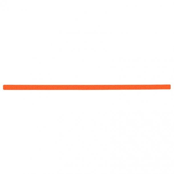 Skridsikker Tape i Ark, Orange, Signal Farver - pk. a' 10 stk.