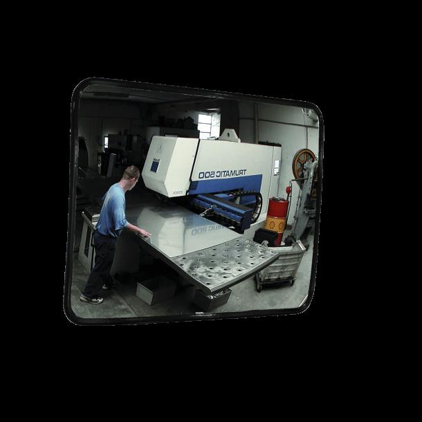 Overvågningsspejl SM - Akryl, 60x80cm
