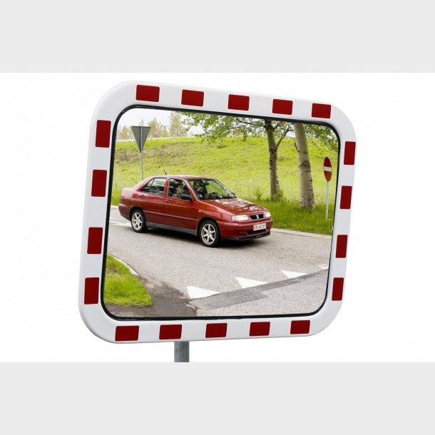 Trafikspejl - Polycarbonat, 80x100cm