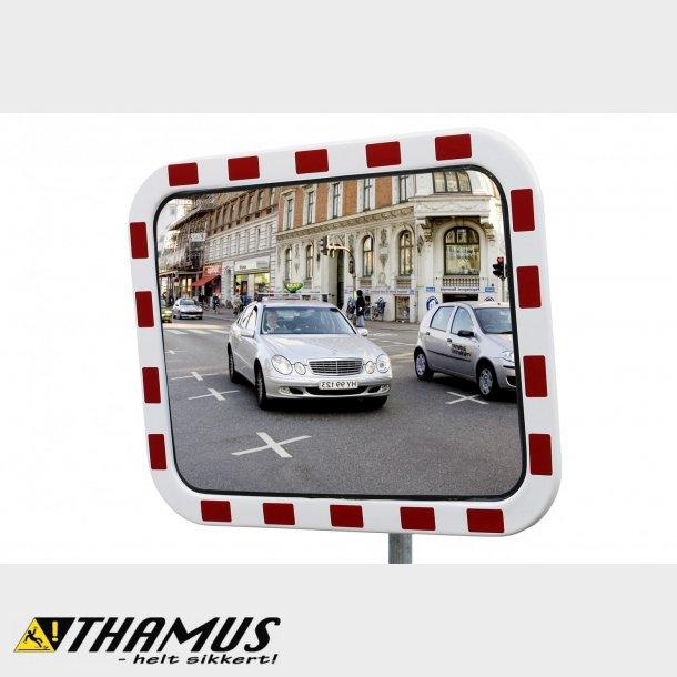 Trafikspejl - INOX - 45x60cm
